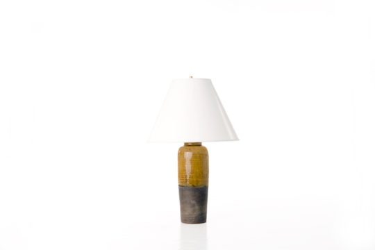 Kahler Lamp with Paper Shade
