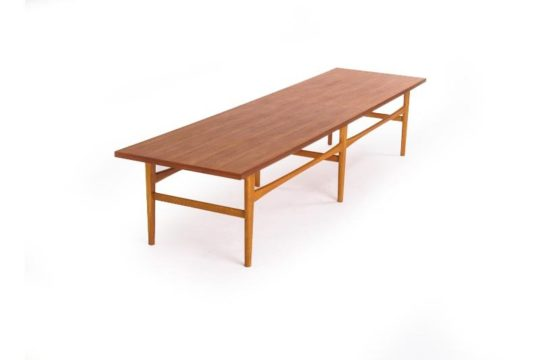 Danish Modern Long and Low Coffee Table