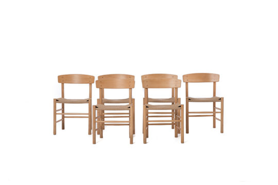 Danish Modern Dining Chairs – set of 6