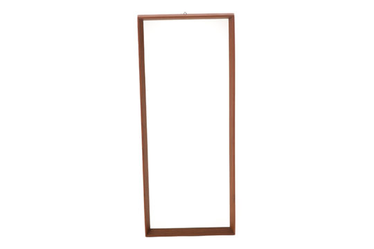 Danish modern rectangular mirror