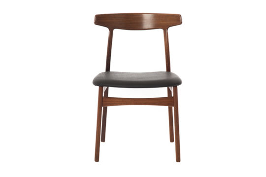 danish modern rosewood side chair
